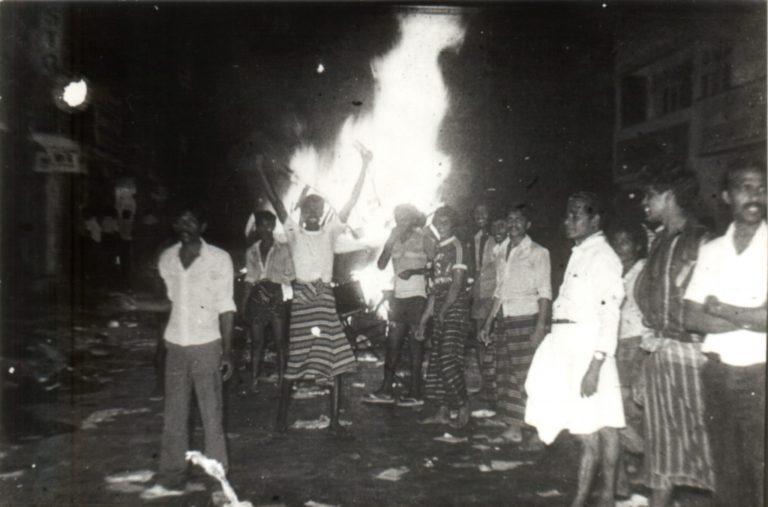 """Ricordando il genocidio del """"Luglio Nero"""""""