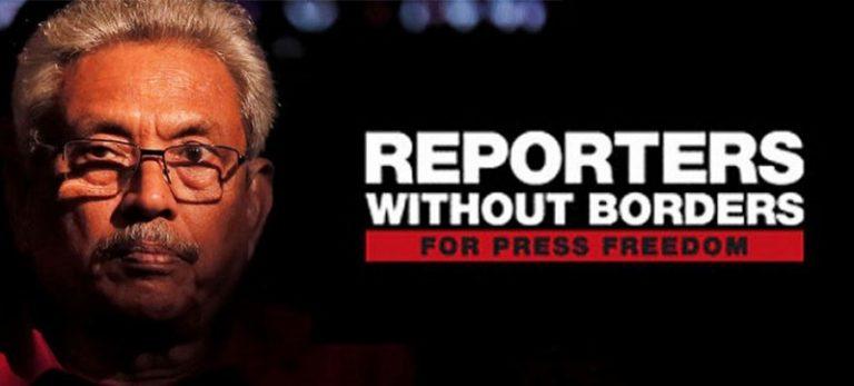 "RSF: Gotabaya Rajapaksa, il ""Terminator"""