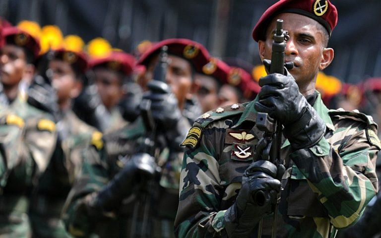 Sri Lanka: 12.3 % del bilancio statale all'esercito